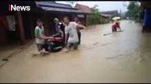 Ngeri, Detik-detik Banjir Bandang Hantam Dusun Klantung Kendal