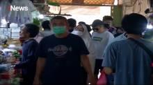 Suasana Pasar Tebet Jelang hari Raya Idul Fitri