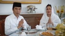 Presiden Jokowi Sampaikan Ucapan Selamat Idul Fitri dari Istana Bogor