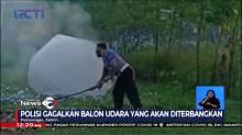 Membahayakan, Polisi Amankan Puluhan Balon Udara dan Ratusan Petasan