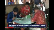 Jenuh PSBB, Pedagang Warung Makan Nekat Layani Makan di Tempat