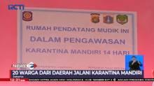 Puluhan Warga dari Daerah yang Tiba di Jakarta Jalani Karantina Mandiri