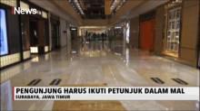 Pengunjung Pusat Perbelanjaan Hanya di Perbolehkan Berjalan Satu Arah Saat Fase New Normal