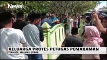 Peti Jenazah Nyaris Terjatuh, Pemakaman PDP Corona Ricuh