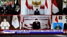 Presiden Jokowi dan Jajaran Gelar Upacara Virtual Peringatan Hari Lahir Pancasila