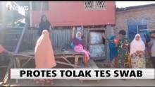 Tolak Tes Swab, Sejumlah Wanita di Sikka Mengamuk
