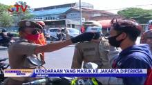 Razia PSBB, Kendaraan Plat Nomor Daerah Banyak Terjaring Petugas