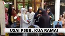 PSBB Selesai, Ratusan Calon Pengantin Padati KUA di Cirebon