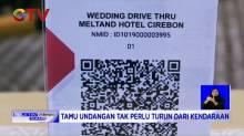 Resepsi Pernikahan Ala Drive Thru, Alternatif di Tengah Pandemi