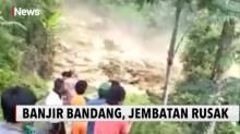 Banjir Bandang di Kabupaten Luwu Hancurkan Akses Jalan Desa