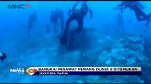 Penemuan Bangkai Pesawat Tempur Perang Dunia II di Laut Papua