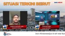 Kesaksian Mahasiswa Indonesia Saat Ledakan Maut Terjadi di Beirut Lebanon