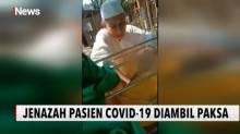 Keluarga Pasien Suspect Covid-19 Ambil dan Buka Paksa Kantong Jenazah di Malang