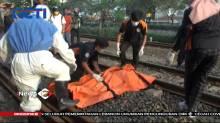 Seorang Pemuda Tewas Ditabrak Kereta, Diduga Bunuh Diri
