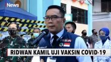 Gubernur Jawa Barat Ridwan Kamil Jalani Uji Vaksin Covid-19