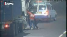 Aksi Pembegalan Truk Trailer Terjadi di Ruas Tol Kemayoran