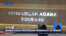 Kasus Perceraian di Bandung Melonjak Hingga 20%