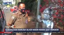 Belasan Manusia Silver Terjaring Razia PMKS di Jakarta Utara