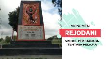 Mengenang Perjuangan Tentara Pelajar di Monumen Rejodani