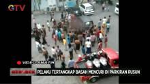 Pelaku Curanmor Nyaris Meregang Nyawa di Hajar Massa di Surabaya