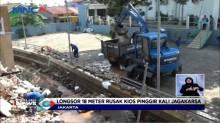 Longsor 18 meter, 5 Kios di Jagakarsa Ambruk
