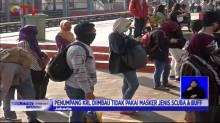 PT KCI Sosialisasi Penumpang KRL Terkait Penggunaan Masker Scuba dan Buff