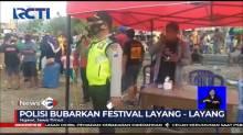 Tidak Mengantongi Izin, Polisi Bubarkan Festival Layang-Layang di Ngawi