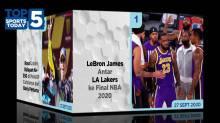 Top 5 Sports Today 27 Sept 2020, LA Lakers ke Final NBA 2020