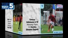 Timnas U-19 Menang Kontra Dinamo Zagreb, Persija Negatif Covid-19