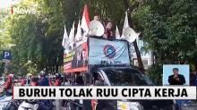 Tolak RUU Cipta Kerja, Buruh KSPSI Banten Akan Mogok Nasional