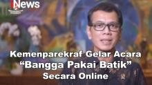 Kemenparekraf Gelar Acara Bangga Pakai Batik Secara Online
