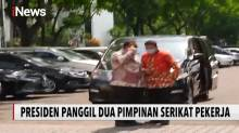 Jokowi dan Dua Pimpinan Serikat Buruh Bertemu di Istana