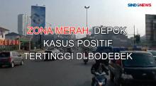 Zona Merah, Kota Depok Kasus Positif Tertinggi di Bodetabek