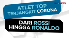 Atlet Top Terjangkit Corona, Dari Rossi hingga Ronaldo