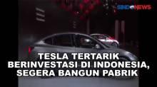 Tertarik Berinvestasi di RI, Tesla akan Bangun Pabrik di Batang