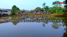 Belajar Bahasa Inggris Sambil Mancing di Kampung Inggris Sawangan