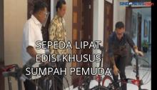 Sepeda Lipat Edisi Khusus Sumpah Pemuda untuk Kepresidenan