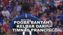 Pogba Bantah Keluar dari Timnas Prancis karena Komentar Marcon