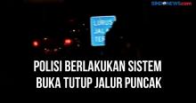 Polisi Berlakukan Sistem Buka Tutup Jalur Puncak Bogor