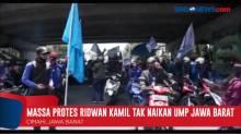 Massa Protes Ridwan Kamil Tak Naikan UMP Jawa Barat
