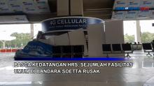 Pasca Kedatangan HRS, Sejumlah Fasilitas Umum di Bandara Soetta Rusak