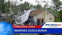 Atap Rumah Warga Rusak Berat Diterjang Angin Puting Beliung