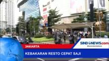 Kebakaran Restoran di Dalam Mall, Pengunjung Berhamburan Panik