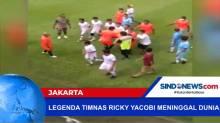 Mantan Pemain Timnas Ricky Yacobi Meninggal Dunia