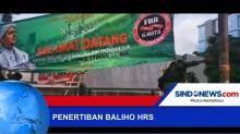 Razia Penertiban Baliho Bergambar Habib Rizieq Shihab