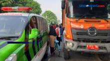 Motor Hilang Kendali, Wartawan Metro TV Tewas Tabrak Truk Sampah