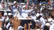 FPI Klaim Test Swab Habib Rizieq Shihab Negatif