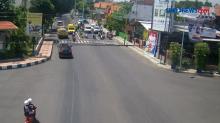 Rekaman Video Ambulans Bawa Pasien Covid-19 Tabrak Polisi