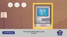 Tips Aman Mengambil Uang di ATM Semasa Pandemi Covid-19