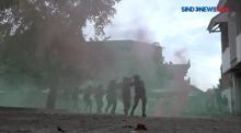 Pasukan Marinir Gelar Operasi Lengkap dengan Kendaraan Lapis Baja